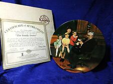 Norman Rockwell's The Family Doctor Factory Box Coa