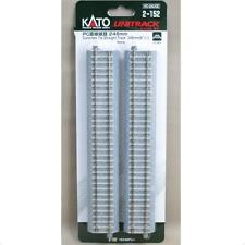 Kato 2-152 Rail Droit / Straight Track Concrete Tie 246mm 4pcs - HO