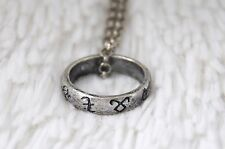 Rune Ring Necklace – The Mortal Instruments The Infernal Devices Shadowhunters