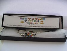 Personalised Teacher  Gift Owl Bookmark in Gift Box  Boxed