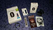 Fitbit Charge 2 Fitness Activity Tracker Black Large with accessories