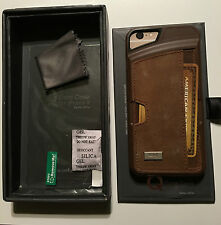 """CM4 Wallet Genuine Leather Q Card Case for iPhone 6/6s (4.7"""") Cover Brown"""