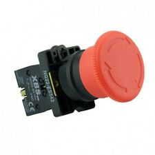 XBS Not Aus Schalter Taster Notschalter für 600V und 10A mit in rotem Knopf  NG2