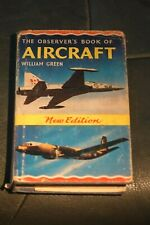 Vintage Observers Book Of Aircraft 1966 With Dust Jacket.