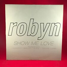 "ROBYN Show Me Love 1997 UK 6-track Double 12"" Promotional Vinyl single EXCELLENT"