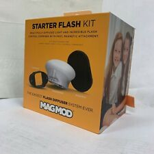 MagMod Starter Flash Kit – Fits Most Speedlites – Includes MagGrip, MagSphere, a