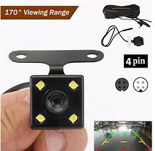 4PIN / 5PIN Car Rear View Reverse Backup Camera Parking Waterproof Night Vision