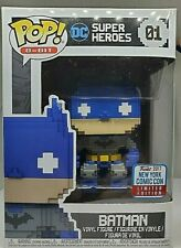 Funko Pop 8-Bit DC Super Heroes #01 Batman 2017 Fall Convention Exclusive