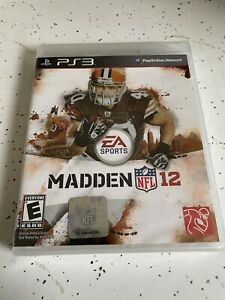 Sony PlayStation 3 PS3 Madden NFL 12 New Sealed