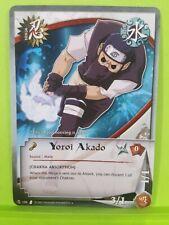 Yoroi Akado - 106 - Uncommon Unlimited Naruto TCG   Chakra Absorption