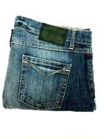Harley Davidson Women's Factory Distressed Cuffed Boyfriend Jeans - Size 31