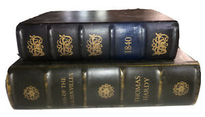 """Nesting Book """"The Old Curiosity Shop"""" """"Tess of the Durbervilles"""" 2 boxes wood"""