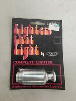 Vintage 70's Car Lighter LIGHTERS THAT LIGHT by CASCO L-156C New/Sealed