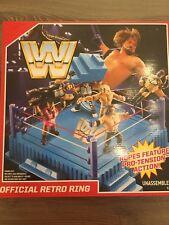 WWE MATTEL OFFICIAL RETRO WRESTLING RING SEALED BRAND NEW