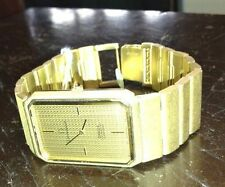 Omega Constellation Adult Solid Gold Strap Wristwatches