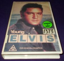 YOUNG ELVIS VHS PAL ELVIS PRESLEY DOCUMENTARY