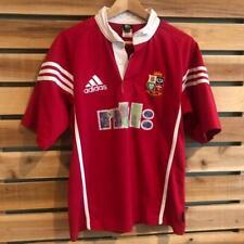 New listing VTG 2001 Red Adidas British & Irish Lions Australia Rugby Jersey Shirt S/M