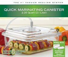 T02-0050-015 - Sunbeam FoodSaver Vacuum Sealing 2.25Q Quick Marinating Canister