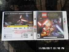Lego Star Wars The Force Awakens (Nintendo 3DS) Case & Manual Only.. NO GAME