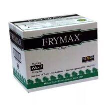 Frymax 12.5kg Pure Vegetable Frying Fat Oil For Chip Shop Cafe Restaurant Hotel