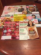 Lot Of 8 Magazines Good Housekeeping The Good Life. 2012-2017