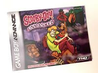 Scooy-Doo! Unmasked - Authentic - Nintendo Game Boy Advance - GBA - Manual Only!