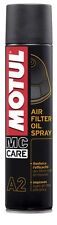 MOTUL A2 OLIO PER FILTRI ARIA SPRAY AIR FILTER OIL SPRAY 400 ml