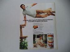 advertising Pubblicità 1979 OLIO CUORE e ENRICO MONTESANO