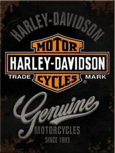 Harley Davidson Genuine Magnet, Refrigerator, 8 CM, New