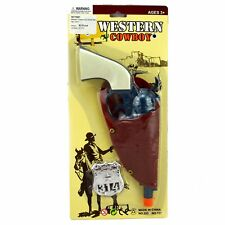 3PCE COWBOY GUN HOLSTER SET play fun kids party girl boy unisex gift costume