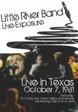 LITTLE RIVER BAND - LIVE EXPOSURE USED - VERY GOOD DVD