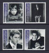 GIBRALTAR 2003 Prince WILLIAM's 21st Birthday set of 4  - MNH.. Royal Family