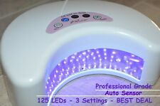 Professional 125 LED UV Nail Polish Dryer Lamp Gel Acrylic Curing Light - BEST