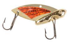 NEW! Reef Runner Cicada Lure, 1/4-Ounce, Gold/Orange 30203