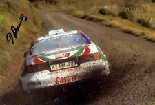 Didier Auriol Toyota Celica Turbo 4WD New Zealand Rally 1994 Signed Photograph 1
