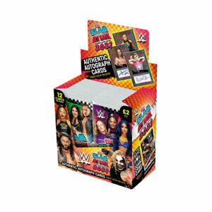 2021 TOPPS WWE SLAM ATTAX CARDS BOX (24 PACKS PER BOX) (12 CARDS PACK) 288 TOTAL