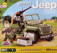 Cobi 24092 Willys MB Jeep WWII 90 Blocks 1 Figure Compatible Building Blocks