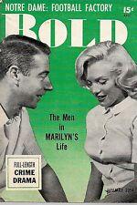 Pocket Magazine--Bold Jan. 54 #-1 Monroe-----137