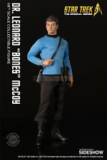 Star Trek Classic TOS DeForest Kelley Dr. Bones McCoy Action Figure QMX Sideshow