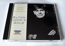 ELTON JOHN'S GOLD VISA GOLD PRESENT CD 1995 DPSM 5156 IMPORT MADE IN USA ROCKET