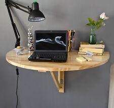 SoBuy® Balkon Wandtisch,Klapptisch,Küchentisch,Schreibtisch,halbrund,FWT10-N