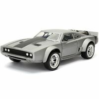 1/24 Jada Fast & Furious 8 Movie Dom's Ice Dodge Charger Diecast Grey 98291