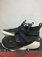 Nike LeBron Soldier XI 11 SFG Black/Sail-Racer Blue shoes 897646-004 Mens 11 NEW