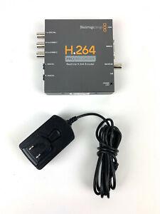 Blackmagic Design H.264 Pro Recorder Realtime Encoder