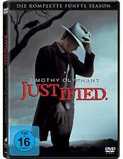 3 DVD-Box ° Justified ° Staffel 5 ° NEU & OVP