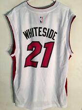 Adidas NBA Jersey Miami Heat Hassan Whiteside White sz XL