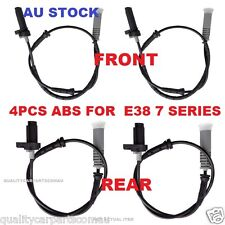 4PCS ABS Sensor FIT BMW E38 FRONT & REAR 728i 730i 735i 740i 750i HIGH QUALITY