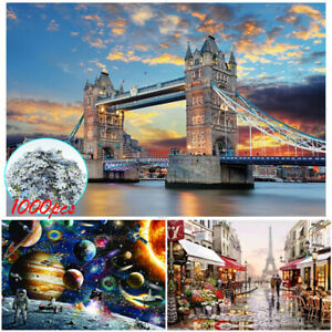 1000 Pcs Puzzles Classically Famous Paintings Landscape Jigsaw Family Game Gifts