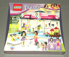 NEW Girls LEGO Friends Set 41007 Heartlake Pet Salon w Emma & Joanna Figures NEW