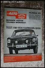 AMS Auto Motor Sport 10/62 VW 1500 Karmann Ghia Coupe Mini